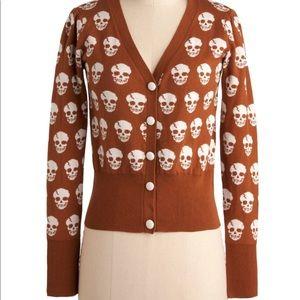 Skull Cardigan